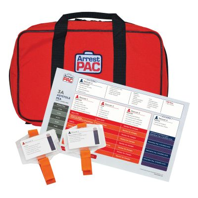 ArrestPAC with ACLS PitCard (US Protocols)