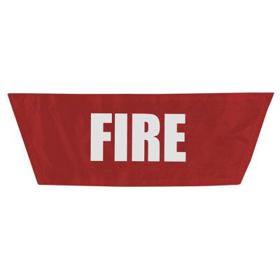 StatPacks G2 MCI Vest/Pack Name Plate (Fire - Red)