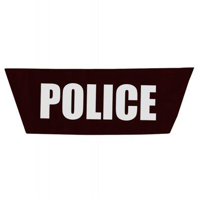 StatPacks G2 MCI Vest/Pack Name Plate (Police - Black)