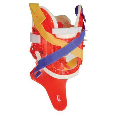XCollar Plus Cervical Spine Immobilisation System (Orange)