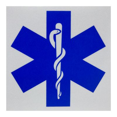 Star Of Life Decal (100 x 100mm)