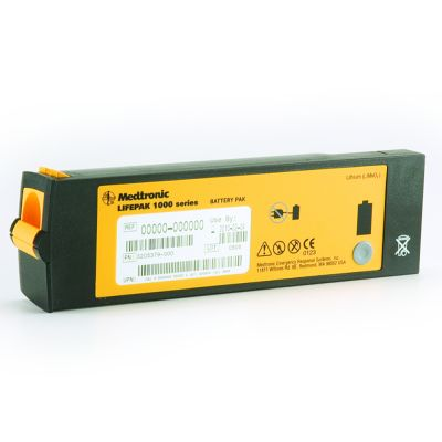 LIFEPAK 1000 LiMnO2 Battery Replacement (Non-Rechargeable)