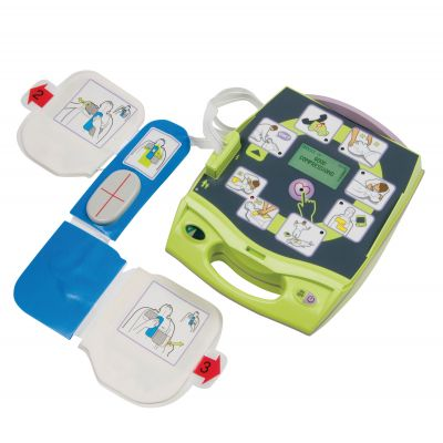 ZOLL AED Plus Defibrillator (With Graphics)