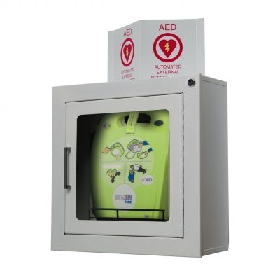 ZOLL AED Plus Wall Cabinet (Surface Mount)
