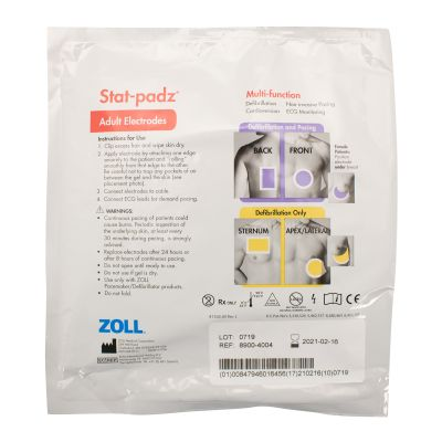 ZOLL Stat-Padz Multifunction Electrodes (Adult)