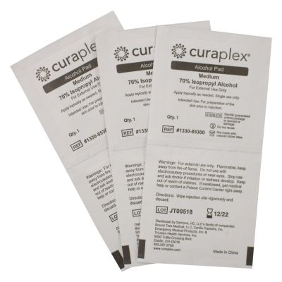 Alcohol Prep Pads (Pack of 200)