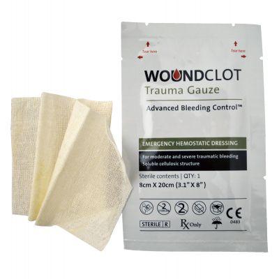 WoundClot Trauma Gauze (8cm x 20cm)