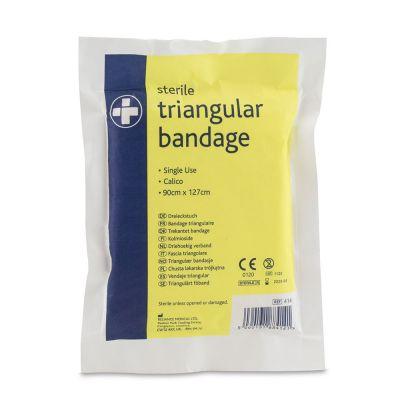 Sterile Calico Triangular Bandage (Single)