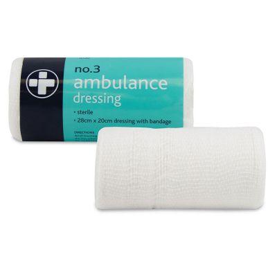 No.3 Ambulance Dressing (Single)