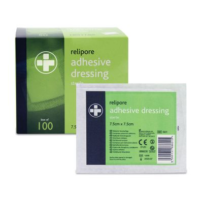 Adhesive Wound Pad - 7.5 x 7.5cm (Pack of 100)