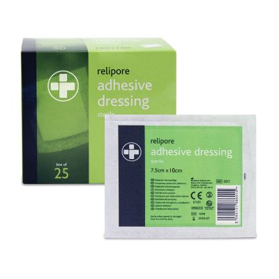 Adhesive Wound Pad - 7.5 x 10cm (Pack of 25)