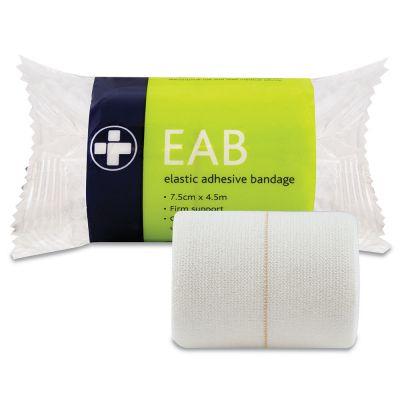 Elasticated Adhesive Bandage - 7.5cm x 4.5m (Pack of 12)