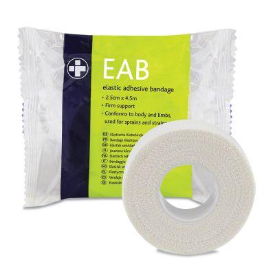 Elasticated Adhesive Bandage - 2.5cm x 4.5m (Single)