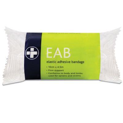 Elasticated Adhesive Bandage - 10cm x 4.5m (Pack of 12)