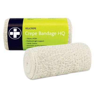 Cotton Crepe Bandage (10cm x 4m)