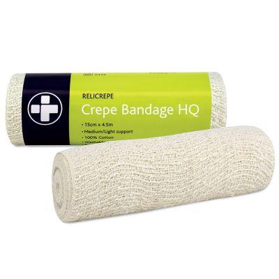Cotton Crepe Bandage (15cm x 4m)