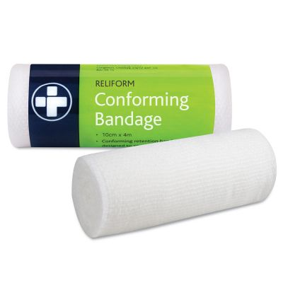 Conforming Bandage - 10cm x 4m (Single)