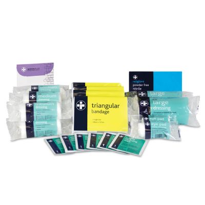HSE Approved First Aid Kit - Refill (Small)
