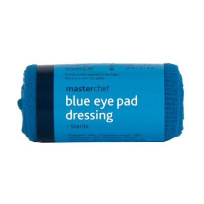Masterchef Blue Dressing - Eye Pad