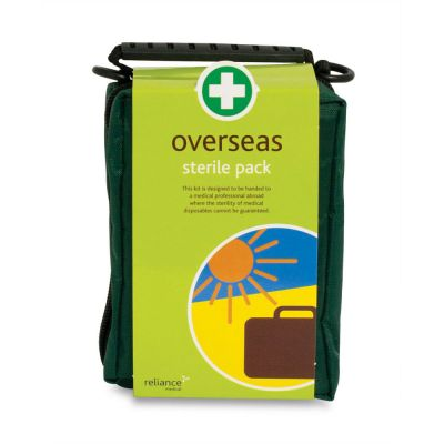 Compact Overseas First Aid Kit