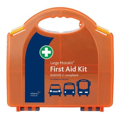 BS-8599-2 Vehicle First Aid Kit - Large (Hard Case)