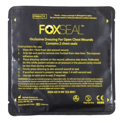 Foxseal Chest Seal (Pack of 2)