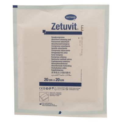 Zetuvit Absorbent Sterile Wound Pad - 20 x 20cm (Single)
