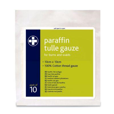 Paraffin Gauze - 10 x 10cm (Pack of 10)