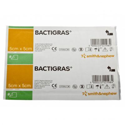 Bactigras Dressing - 5 x 5cm (Pack of 50)