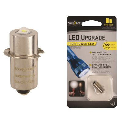LED Upgrade for C and D Cell Maglites (White)