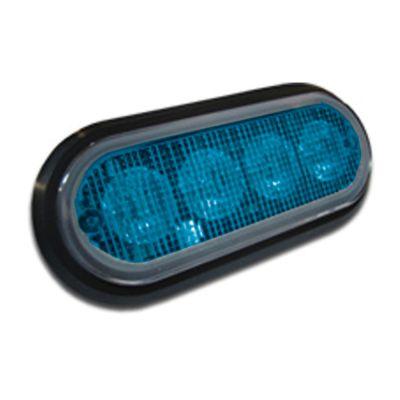 MicroLed PLUS Compact LED Light (Blue LED / Blue Lens)