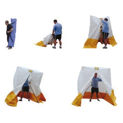 SpeedTent PVC Decontaminable Incident Shelter (Green/White)