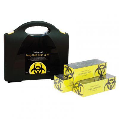 Biohazard Body Fluid Clean Up Kit (5 Applications)