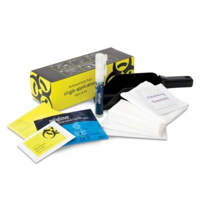 Biohazard Body Fluid Clean Up Kit Refill(Single Application)