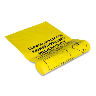 Clinical Waste Bag - 56 x 63cm (Pack of 50)