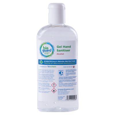 Bioguard Surgical Hand Gel Bottle (250ml)