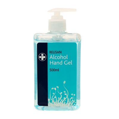 Relisan Alcohol Hand Gel with Pump Action - 500ml