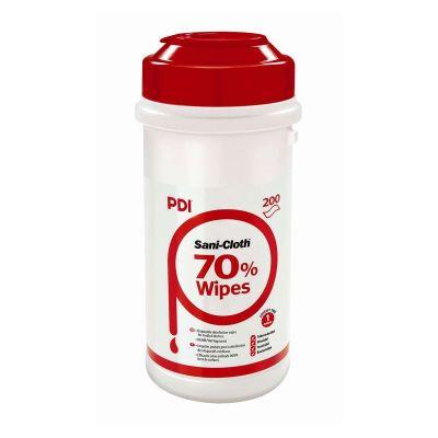 PDI Sani-Cloth 70% Alcohol Wipes - Tub of 200