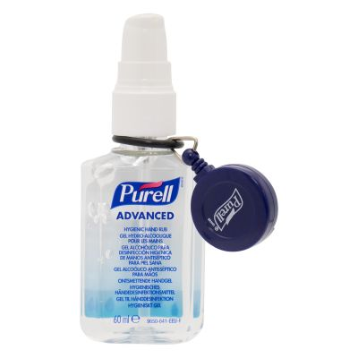 Purell Hygienic Hand Rub with Retractable Belt Clip (60ml)