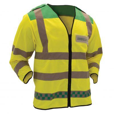Hi-Vis L/S Waistcoat (Green/Yellow)