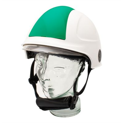 Targa Helmet (White/Green)