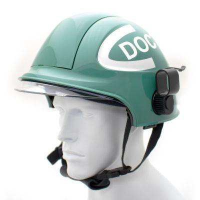 Targa Helmet w/ Holder (Green/Green)