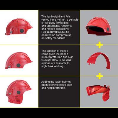 Targa Helmet Centre Comb