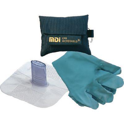 Microkey-Pro CPR Barrier Key Chain w/ Gloves