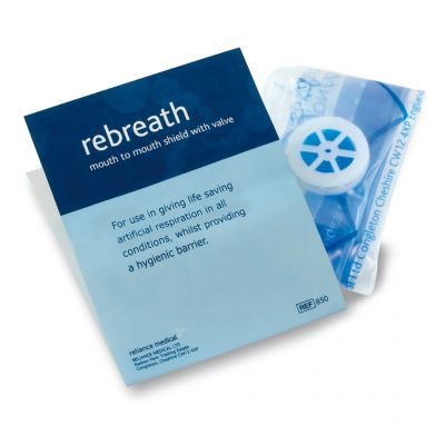 Rebreath CPR Face Shield (with One-Way Valve)