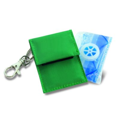 Rebreath CPR Face Shield Keyring (with One-Way Valve)