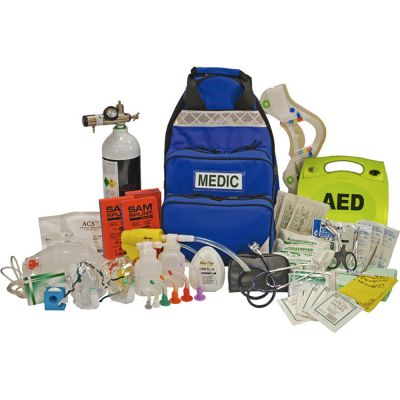First Responder Kit (w/o O2 and Defib)