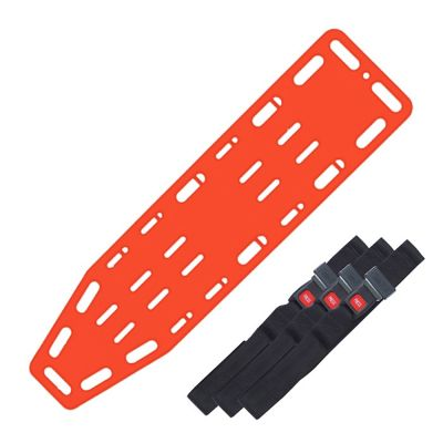 X-Ray Translucent Spineboard Set (3 Standard Straps)