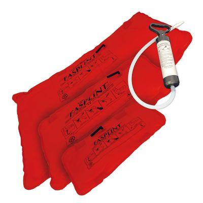 FASPLINT Vacuum Splint (Set of 3 Splints with Economy Pump)