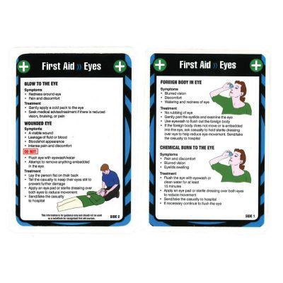Laminated Pocket Guide (Eyes)